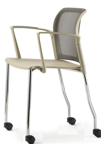 Office Chairs With Casters Source PC Mesh Aspen Hills Design