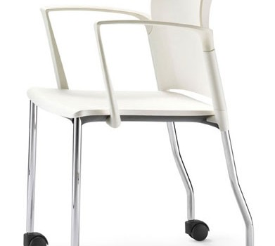 modern chairs with casters