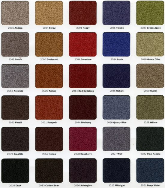 fabric colors for stacking chairs