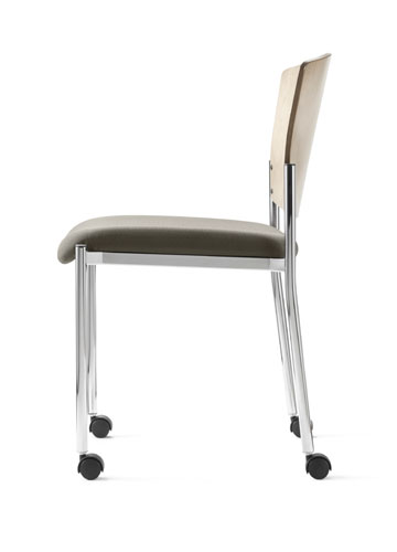 Caster chairs with no arms