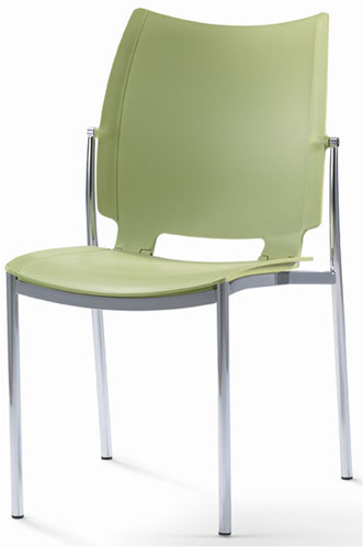 Armless Plastic Stack Chair Source I Stack Aspen Hills